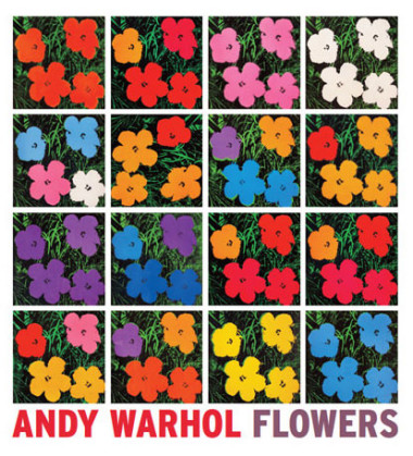 Picture of flowers by Andy Warhol